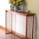 Bemu entrance hall table delicate design cedrela timber